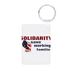 Solidarity - Union - Recall W Keychains