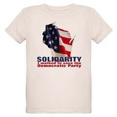 Solidarity - Union - Recall W Organic Kids T-Shirt