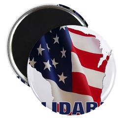 "Solidarity - Union - Recall W 2.25"" Magnet (10 pac"