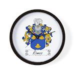 Romeo Coat of Arms Wall Clock