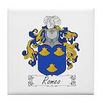Romeo Coat of Arms Tile Coaster