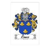 Romeo Coat of Arms Postcards (Package of 8)