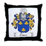 Romeo Coat of Arms Throw Pillow