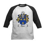 Romeo Coat of Arms Kids Baseball Jersey