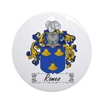 Romeo Coat of Arms Ornament (Round)