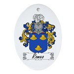 Romeo Coat of Arms Oval Ornament