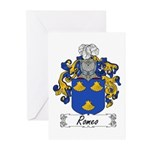 Romeo Coat of Arms Greeting Cards (Pk of 10)