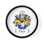 Romano Coat of Arms Wall Clock