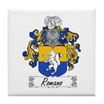 Romano Coat of Arms Tile Coaster