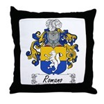 Romano Coat of Arms Throw Pillow