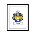 Romano Coat of Arms Framed Panel Print