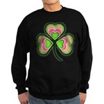 Psychedelic Shamrock Sweatshirt (dark)