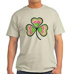 Psychedelic Shamrock Light T-Shirt