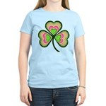 Psychedelic Shamrock Women's Light T-Shirt
