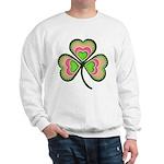 Psychedelic Shamrock Sweatshirt