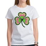 Psychedelic Shamrock Women's T-Shirt