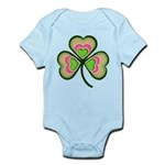 Psychedelic Shamrock Infant Bodysuit