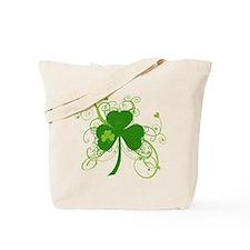 Cool St Patricks Day Shamrock Tote Bag