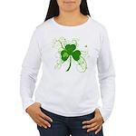 St Paddys Day Fancy Sh Women's Long Sleeve T-Shirt