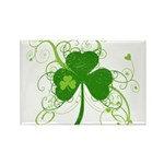 St Paddys Day Fancy Sh Rectangle Magnet (100 pack)