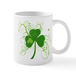 St Paddys Day Fancy Shamrock Mug
