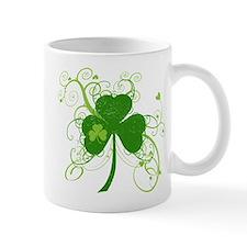Cool St Patricks Day Shamrock Mug