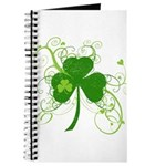 St Paddys Day Fancy Shamrock Journal