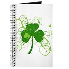 Cool St Patricks Day Shamrock Journal