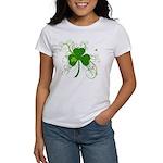 St Paddys Day Fancy Shamrock Women's T-Shirt