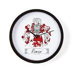 Romani Coat of Arms Wall Clock