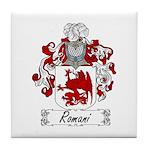 Romani Coat of Arms Tile Coaster