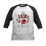 Romani Coat of Arms Kids Baseball Jersey