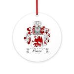 Romani Coat of Arms Ornament (Round)