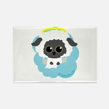 """lamb angel"" Rectangle Magnet"