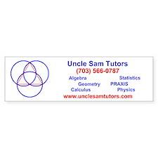 Uncle Sam Tutors Bumper Bumper Sticker