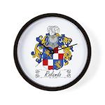 Rolando Coat of Arms Wall Clock