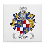 Rolando Coat of Arms Tile Coaster