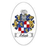 Rolando Coat of Arms Oval Sticker
