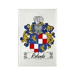 Rolando Coat of Arms Rectangle Magnet (100 pack)