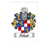 Rolando Coat of Arms Postcards (Package of 8)