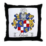 Rolando Coat of Arms Throw Pillow
