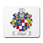 Rolando Coat of Arms Mousepad