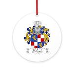 Rolando Coat of Arms Ornament (Round)