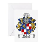 Rolando Coat of Arms Greeting Cards (Pk of 10)