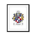 Rolando Coat of Arms Framed Panel Print