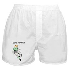 Girl Power, Green Boxer Shorts