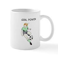 Girl Power, Green Mug