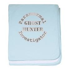 Cool Paranormal investigator baby blanket