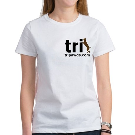 2-Sided Tri Harder Boxer Women's T-Shirt