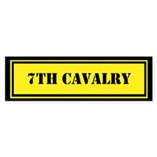 7th Cavalry Bumper Sticker